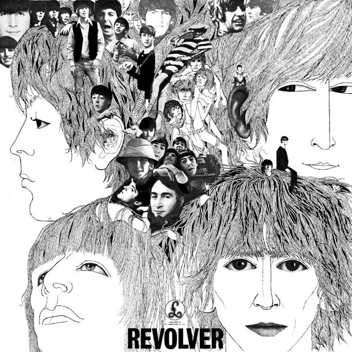 """The cover of the """"Revolver"""" album"""