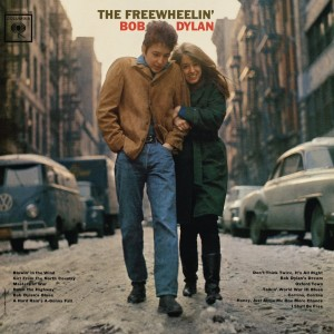 "Bob Dylan and Suze Rotolo on the cover of ""The Freewheelin' Bob Dylan"""