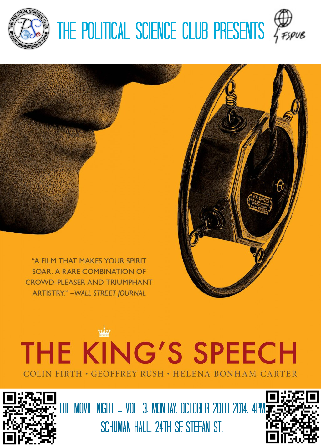 The Movie Night - Vol. 3: The King's Speech - The ...