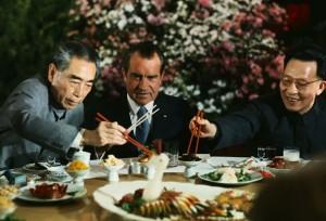 Zhou Enlai and Nixon